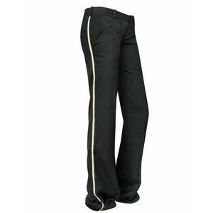 BALMAIN Military Style 100% Wool Pants Siz…